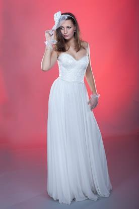 שמלת כלה רומנטית כפרית