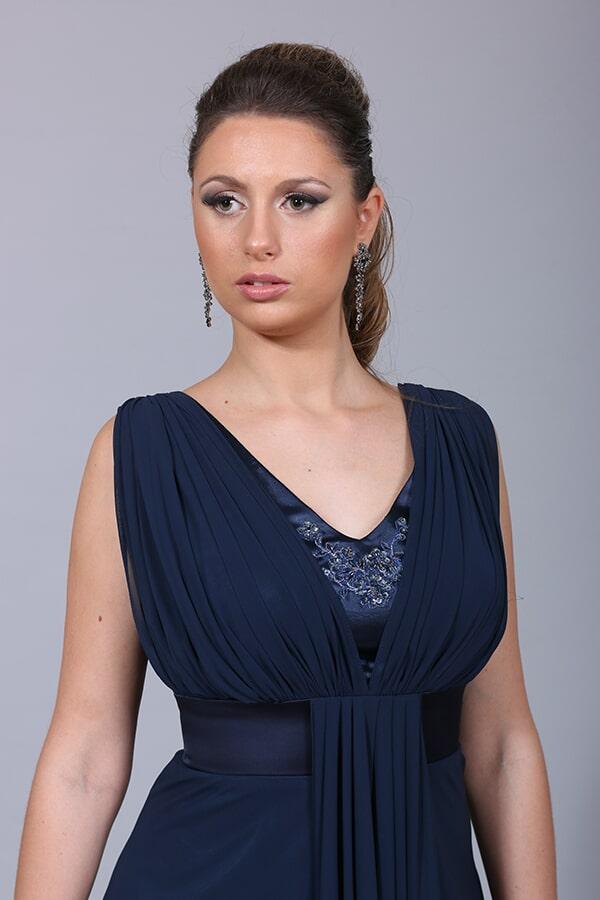 שמלת ערב כחולה