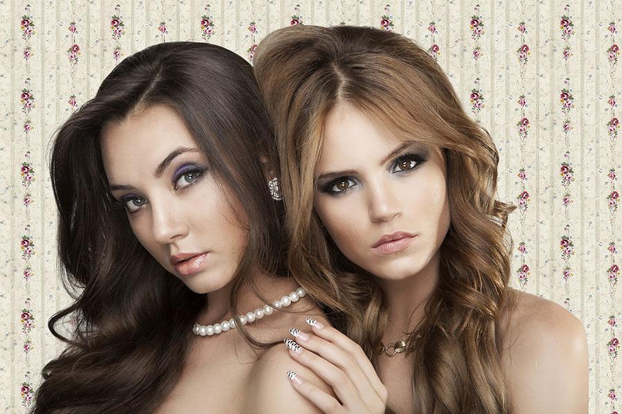 איפור ושיער קולקציית 2012