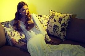 שמלת כלה בשילוב פייטים