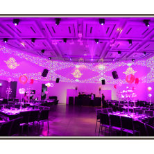 עיצוב אולם תאורה מיוחדת