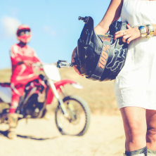 טראש עם אופנועים