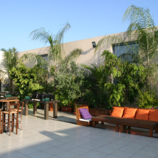 עיצוב מקומות ישיבה בגן