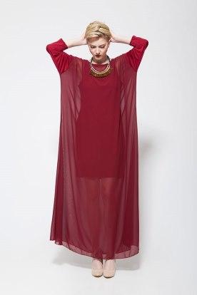 שמלת ערב בסגנון רחב