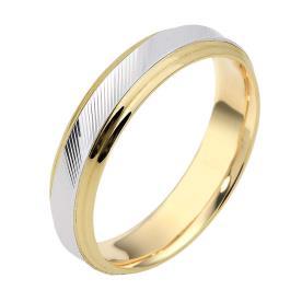 טבעת נישואין חריטת פסים