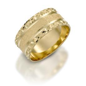 טבעת נישואין ריקועי כוכבים