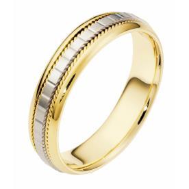 טבעת נישואין חריטת מלבנים