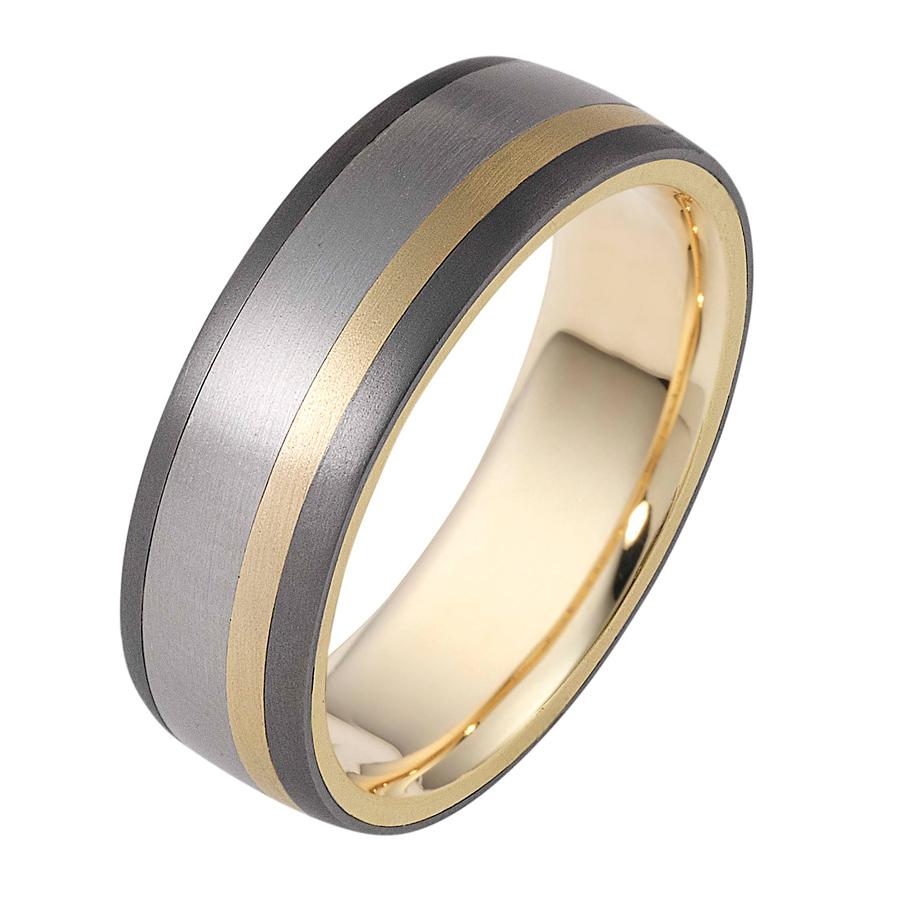 טבעת נישואין בשלושה צבעים