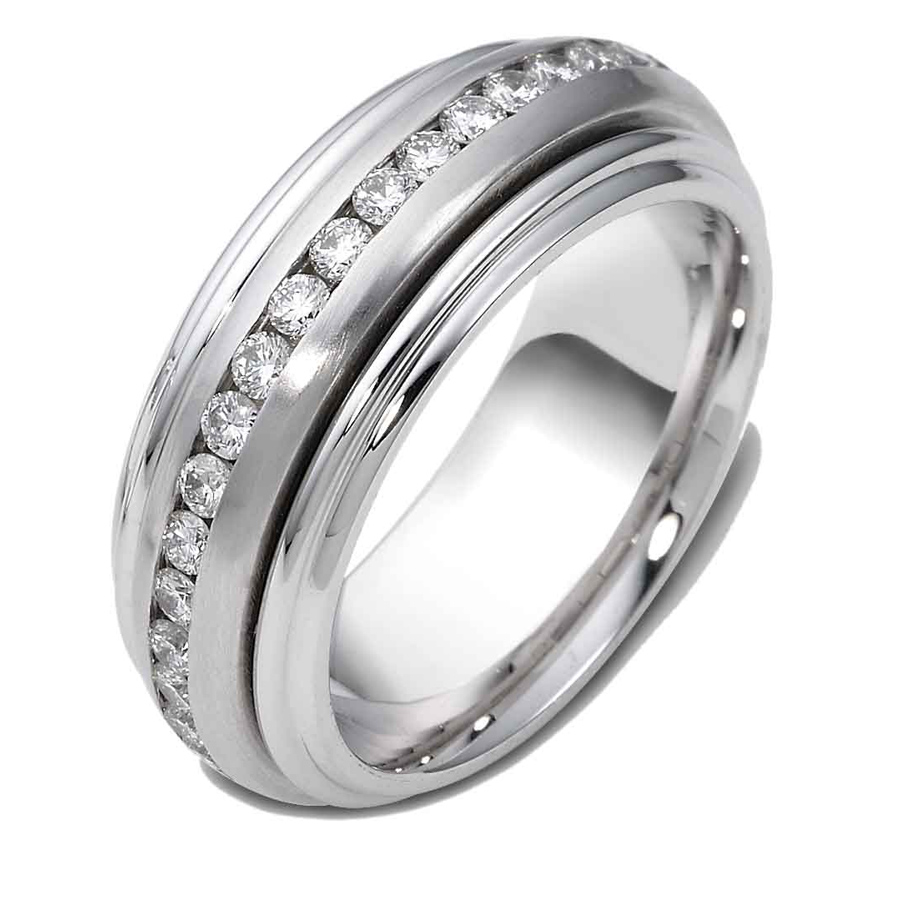 טבעת נישואין יהלומים אטרניטי