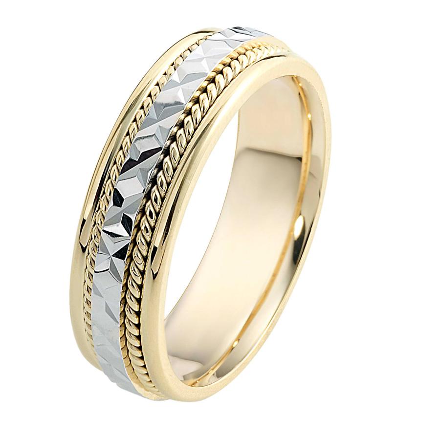 טבעת נישואין ריקועים שונים