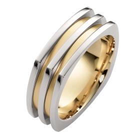 טבעת נישואין מרובעת