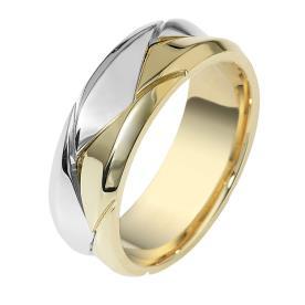 טבעת נישואין עם חריצים