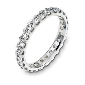 טבעת נישואין משוננת עם יהולמים