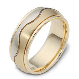 טבעת נישואין חריצה גלית
