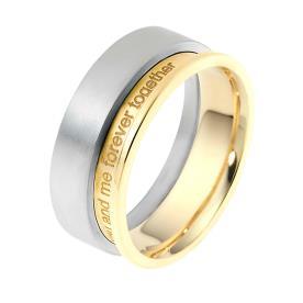 טבעת נישואין הטבעה באנגלית