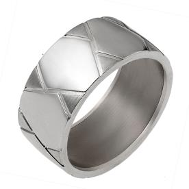 טבעת נישואין חריטת משולשים
