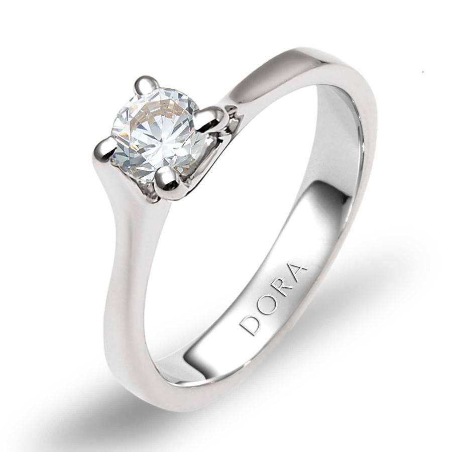 טבעת אירוסין סוליטייר גלית
