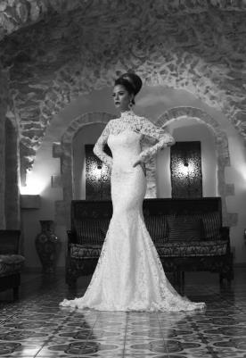 שמלת כלה בסגנון וינטג' זוהר