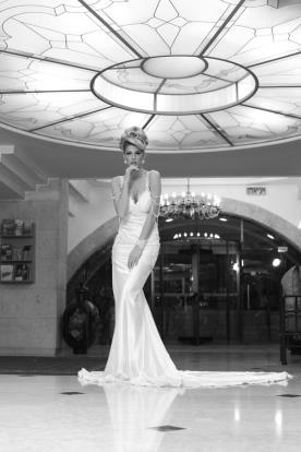שמלת כלה חושנית בסגנון וינטאג'