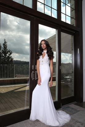 שמלת כלה אופנתית בסגנון מודרני