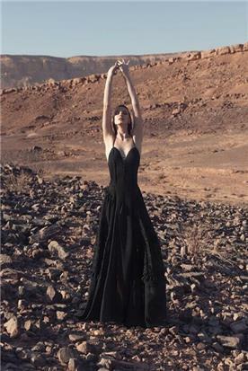 שמלה כלה עם נצנצים