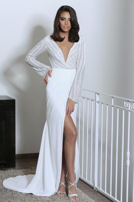 שמלת כלה בסגנון אופנתי חושני