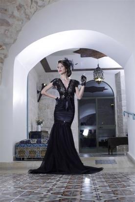 שמלת בת ים אלגנטית לערב