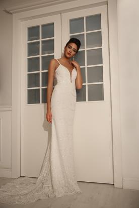 שמלת כלה בסגנון אופנתי קלאסי