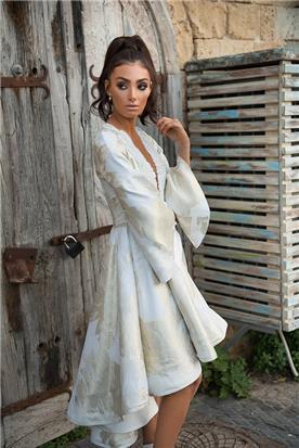 שמלת כלה מיוחדת וקצרה