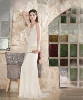 שמלת כלה אלגנטית לכלה יפה