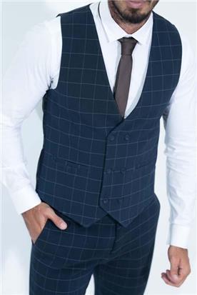 חליפה עם וסט לגבר