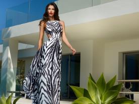 שמלת ערב - פיסטאש