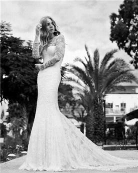שמלת כלה של אורגנזה