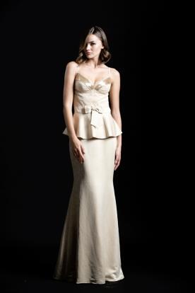 שמלת ערב פפלום