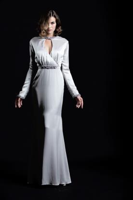 שמלת ערב כסופה דרמטית