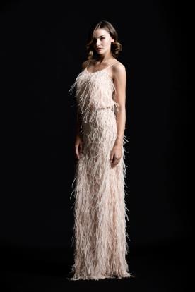 שמלת ערב פרנזים
