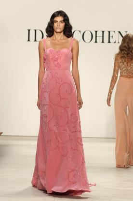 שמלת ערב מעוטרת חרוזים