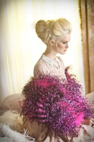 איפור ושיער: איפור כלות, תסרוקת כלה, תסרוקת אסוף, שיער בלונדיני, איפור רומנטי, איפור לעור בהיר - אלי גולן
