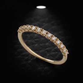 טבעת אירוסין אטרניטי עדינה