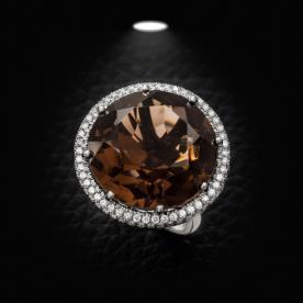 טבעת אירוסין אבן חומה