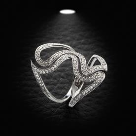 טבעת אירוסין אבסטרקטית