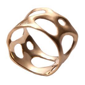 טבעת עבה מודרנית לכלה