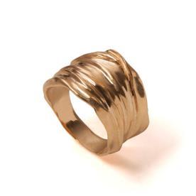 טבעת נישואין זהב צהוב לאישה