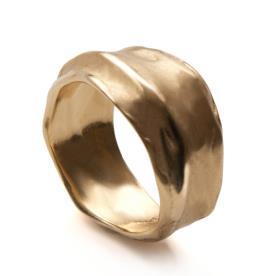 טבעת נישואין עבה ייחודית