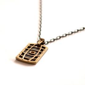 שרשרת זהב בעיצוב מודרני