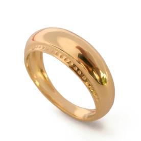 טבעת נישואין מעוגלת לגבר