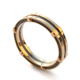 טבעת משולבת חדשנית לגבר