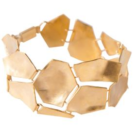 צמיד זהב עבה עדין