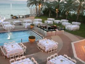 גן אירועים - חוף התכלת