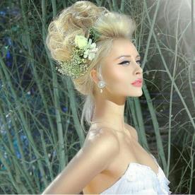 עיצוב שיער ואיפור למראה קלאסי